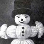 Jack Frost Ornament ~ Free Vintage Crochet