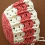 Baby Bonnet ~ Patterns For Crochet