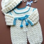Rompers and Bobble Hat ~ Patterns For Crochet