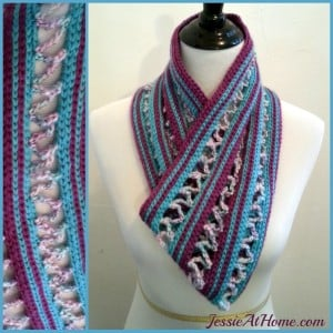 Candy Ribbons Cowl ~ Jessie At Home