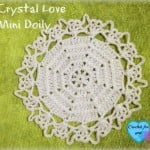 Crystal Love Mini Doily ~ Erangi Udeshika - Crochet For You