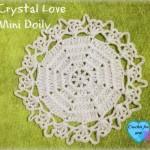 Crystal Love Mini Doily ~ Erangi Udeshika – Crochet For You