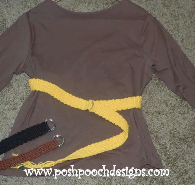 Super Simple Belt ~ Sara Sach - Posh Pooch Designs