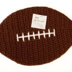 Football Cork Board ~ Petals to Picots