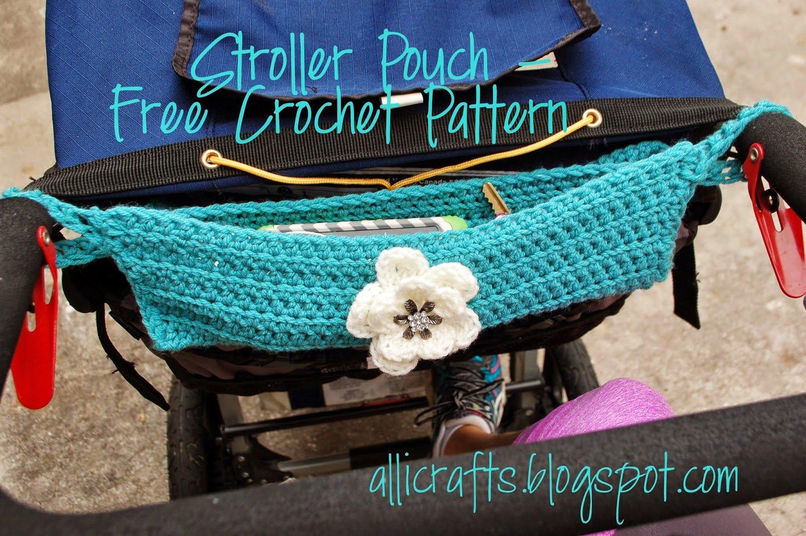 Stroller Pouch ~ Alli Crafts