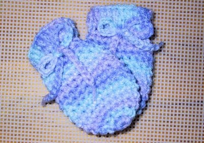 Worsted Weight Baby Mitts ~ Suzies Stuff