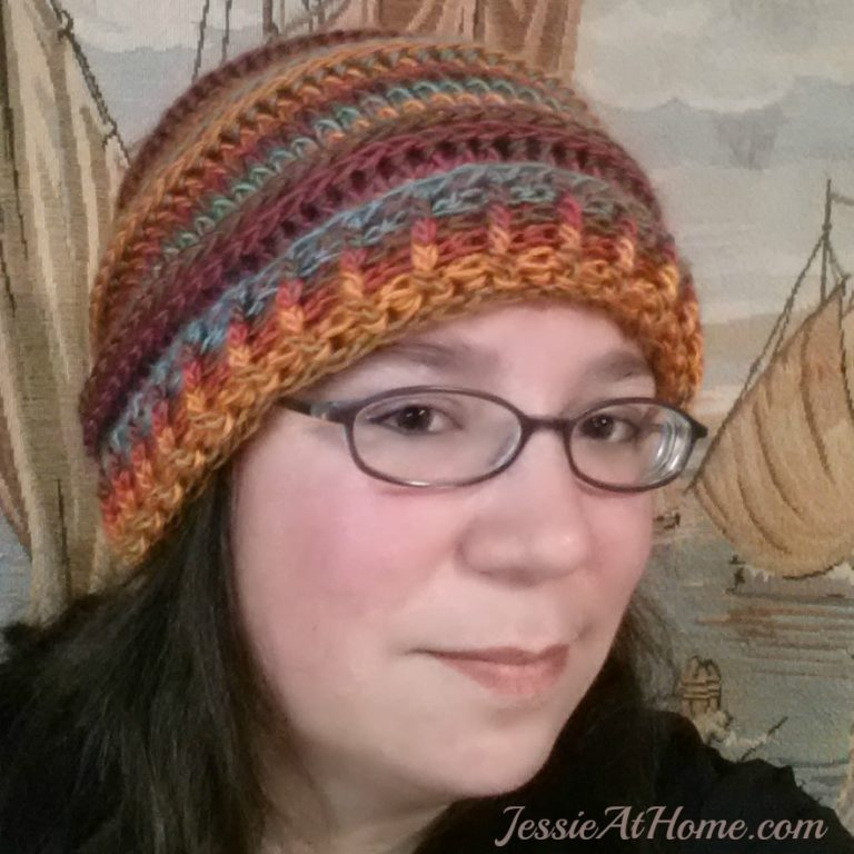 Emily's Super Slouchy Crochet Hat ~ Jessie At Home