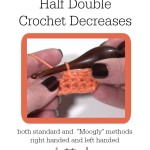 Half Double Crochet Decreases (Hdc2tog) ~ Moogly