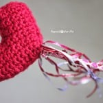Crochet Heart Wand ~ Repeat Crafter Me