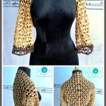 Lacy Love Shrug ~ Maz Kwok's Designs