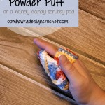 Crochet Powder Puff ~ Oombawka Design