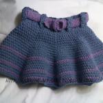 Adding Belt Loops to A Crochet Skirt ~ Oui Crochet