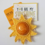 """You Are My Sunshine"" EOS Lip Balm Valentine ~ Repeat Crafter Me"