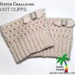 X Stitch Challenge Boot Cuffs ~ Pattern Paradise