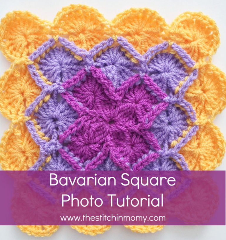 Bavarian Square Tutorial ~ The Stitchin' Mommy