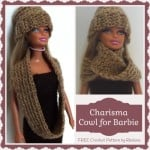 Charisma Cowl for Barbie ~ Rhelena - CrochetN'Crafts