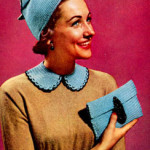Hat, Bag & Collar Set Pattern ~ Free Vintage Crochet