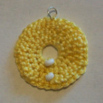 Beaded Circle Pendant ~ Candace – Crochet Spot