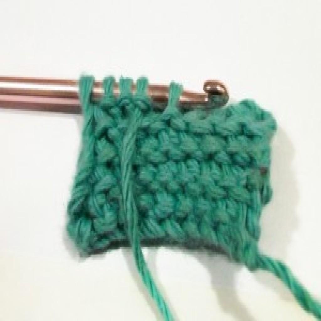 Tunisian Purl Stitch ~ Crochet Tutorial