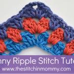 Granny Ripple Stitch Tutorial ~ The Stitchin' Mommy