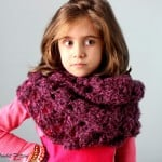 Crochet Infinity Lace Scarf Cowl ~ Beauty Crochet Pattern