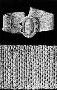 Sport Belt ~ Free Vintage Crochet
