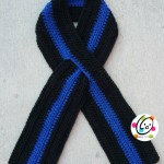 Thin Blue Line Scarf ~ Snappy Tots