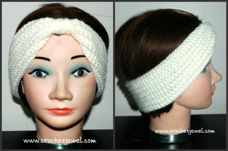 Turban Headband ~ Amy - Crochet Jewel
