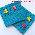 Shell Boot Cuffs ~ Patterns For Crochet