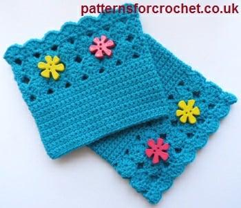 Shell Boot Cuffs ~ Patterns For Crochet