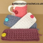 Simple Mug Cozy ~ Patterns For Crochet