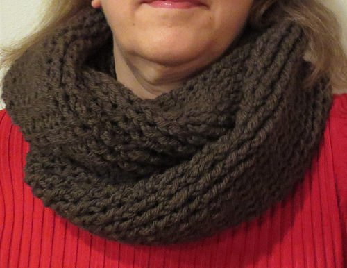 Basic Twisted Cowl Scarf ~ My Recycled Bags