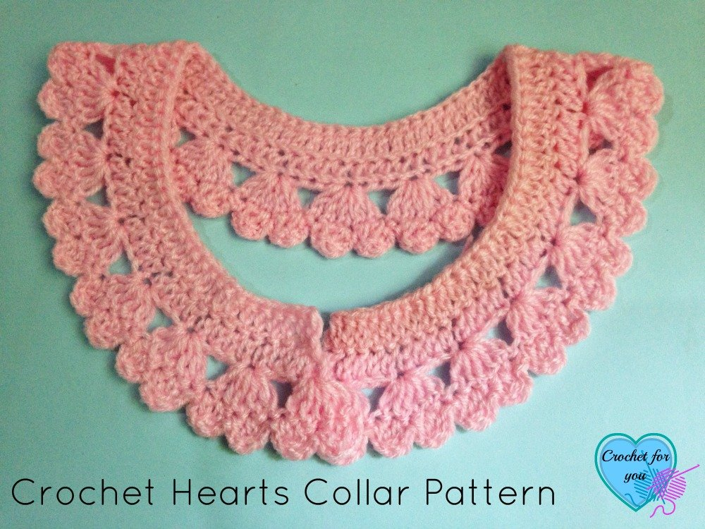 Hearts Collar & Edging ~ Erangi Udeshika - Crochet For You