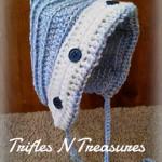 Button Back Bonnet ~ Tera Kulling – Trifles N Treasures