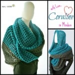 Coraline in Minden Oversized Cowl Wrap ~ Celina Lane - Simply Collectible