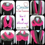 Coraline in San Francisco Cowl Wrap ~ Simply Collectible