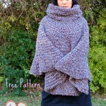 Cowl Hooded Poncho ~ Simply Collectible
