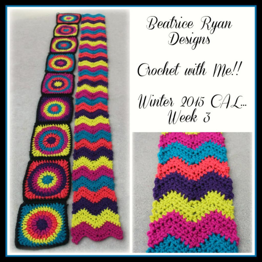 Retro Style Afghan Strip ~ FREE Crochet Pattern