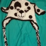 Dalmation Dog Hat Child Age 2-5 ~ Jennifer Gregory – Niftynnifer's Crochet & Crafts