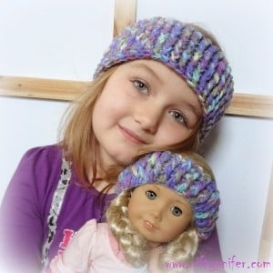Dolly and Me Ear Warmers ~ Jennifer Gregory - Niftynnifer's Crochet & Crafts