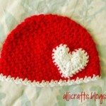 Up and Down Stitch Hat – Newborn ~ Alli Crafts