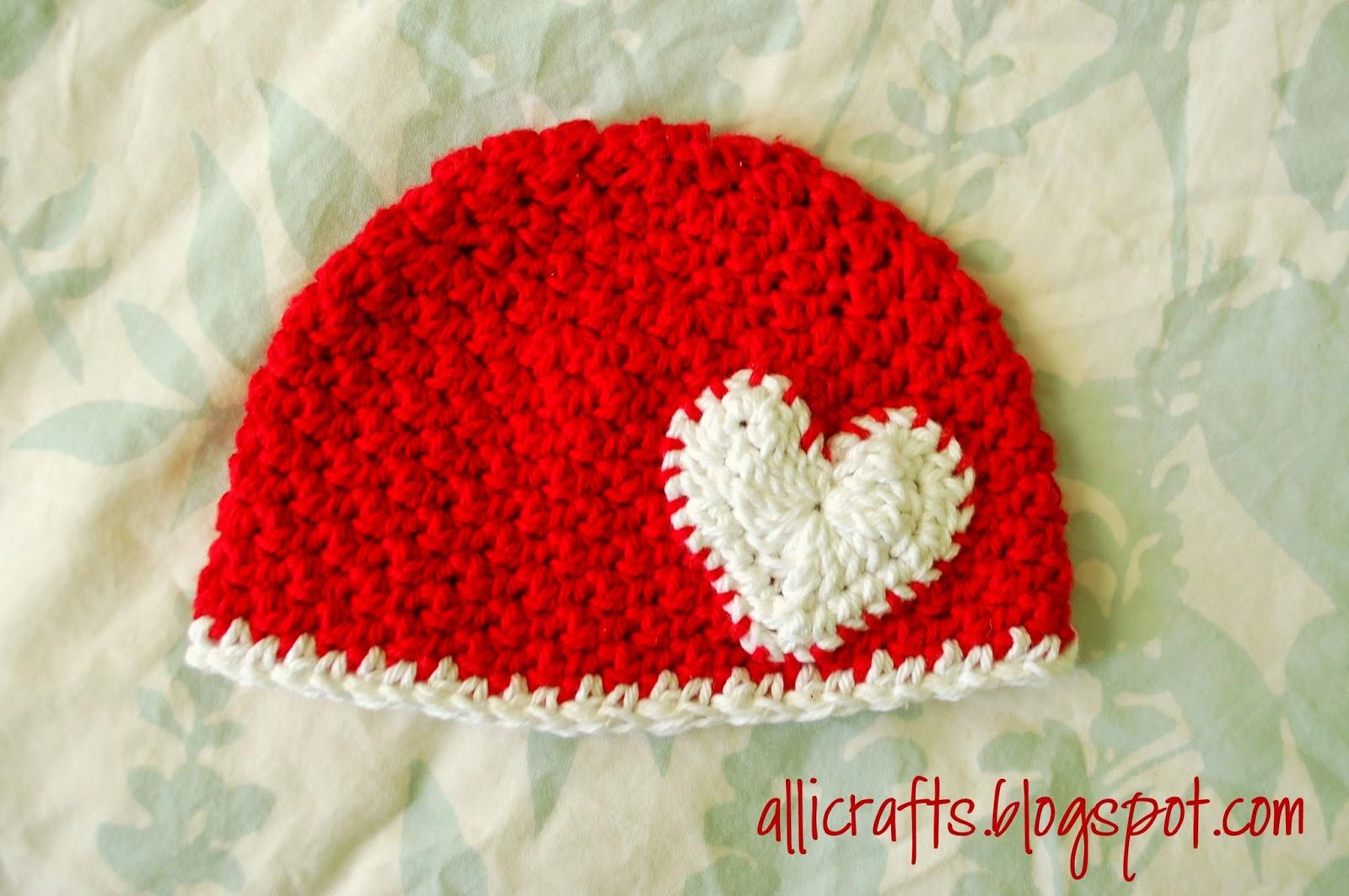 Up and Down Stitch Hat - Newborn ~ Alli Crafts