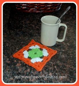Shamrock Coaster ~ Sara Sach - Posh Pooch Designs