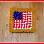 Flag Granny Square ~ Sara Sach - Posh Pooch Designs