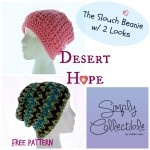 Desert Hope Slouch Beanie ~ Simply Collectible