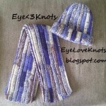 Adult Ribbing Beanie ~ Alexandra Richards - EyeLoveKnots