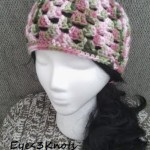 Adult Granny Square Beanie ~ Alexandra Richards - EyeLoveKnots