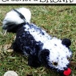 Crochet A Skunk ~ Stitch11