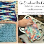 Go Scrub in the Corner Dishcloth ~ Cre8tion Crochet