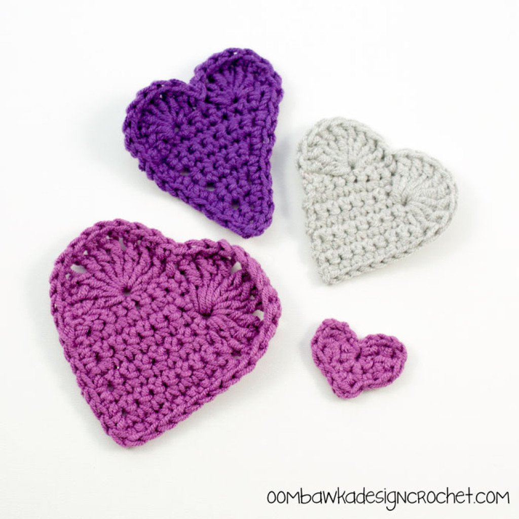 Hearts, Love and Valentines Day ~ FREE Crochet Pattern